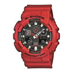 GA-100B-4AER G-SHOCK CASIO